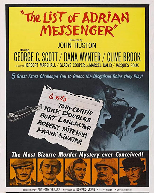 The List Of Adrian Messenger 1963 Full Movie Download 480p | 720p | HDRip x261