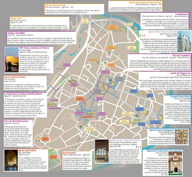 Mapa de Poitiers
