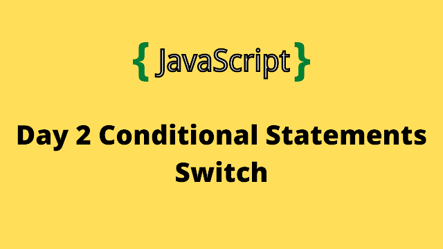 HackerRank Day 2: Conditional Statements: Switch 10 days of javascript solution