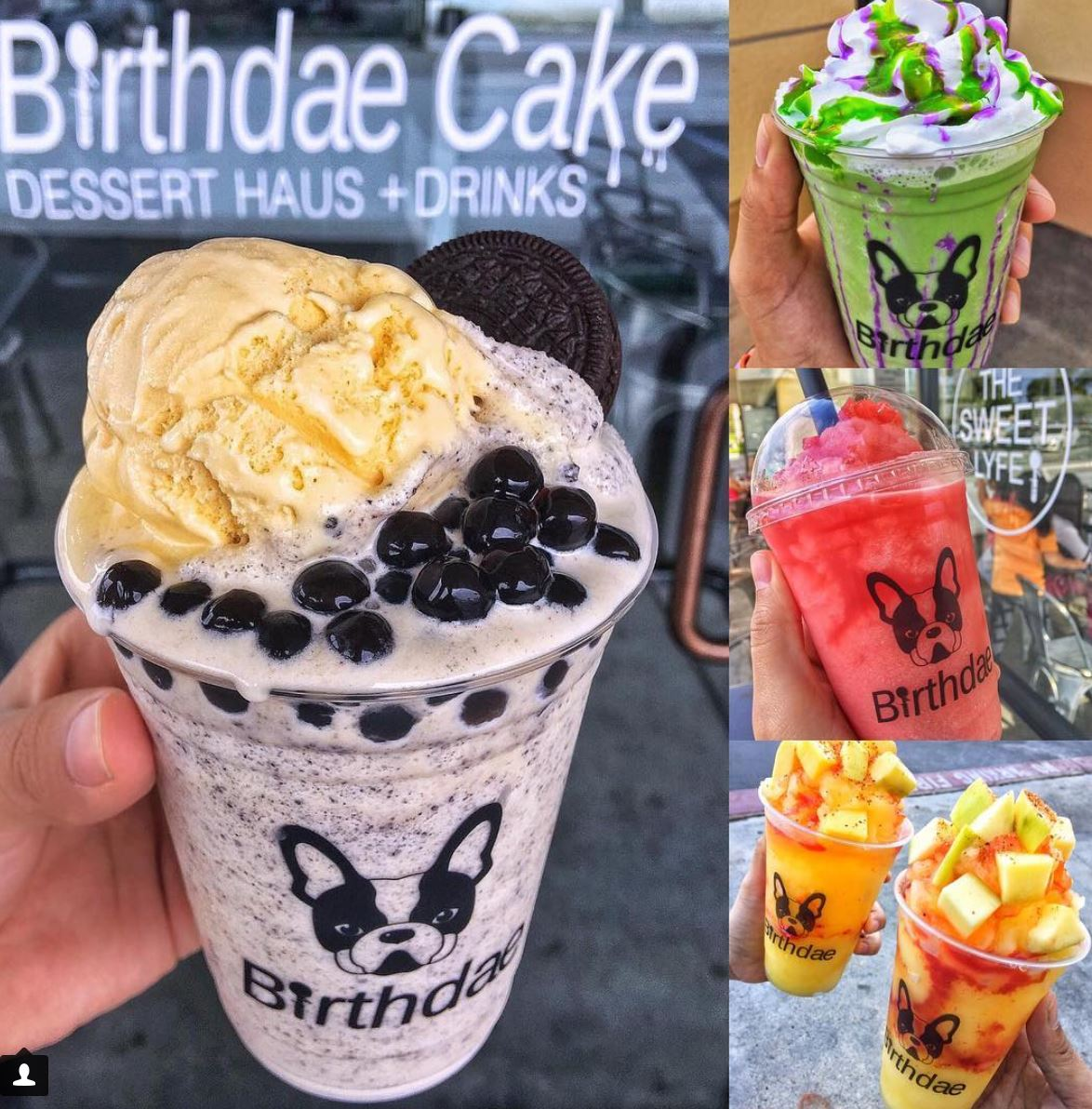 Dec. 15 - 31 | Birthdae Cake in Fountain Valley Offers BOGO FREE On All Blended Drinks!