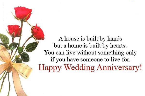 Happy Marriage Anniversary Quotes Wishes Images Messages For Whatsapp And Facebook Download Brain Hack Quotes