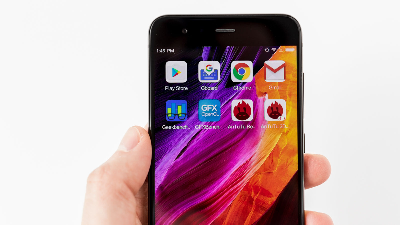 Smartphone Xiaomi Mi6 pantalla