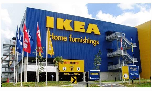 Supermarket furniture IKEA Alam Sutera di Tangerang, Banten