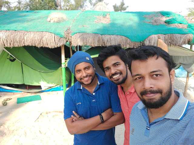 Camping in Mousuni Island