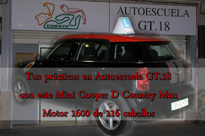 Tus prácticas con un Mini Cooper D Country Man