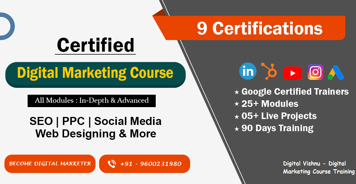 Digital Marketing Course Madurai Digital Vishnu