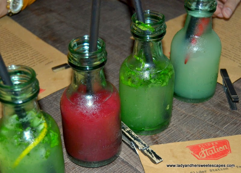 lemonades at Slider Station Dubai