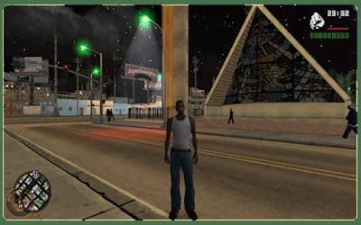 GTA SA building lights mod