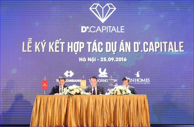 Ký kết hợp tác chiến lược phát triển dự án D' Capitale
