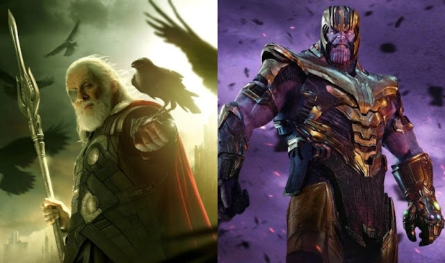 Scared Moments of Mad Titan Thanos in Marvel(Odin)