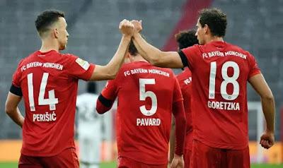 الدوري الألماني: بايرن ينتقم من فرانكفورت وينأى بنفسه عن دورتموند
