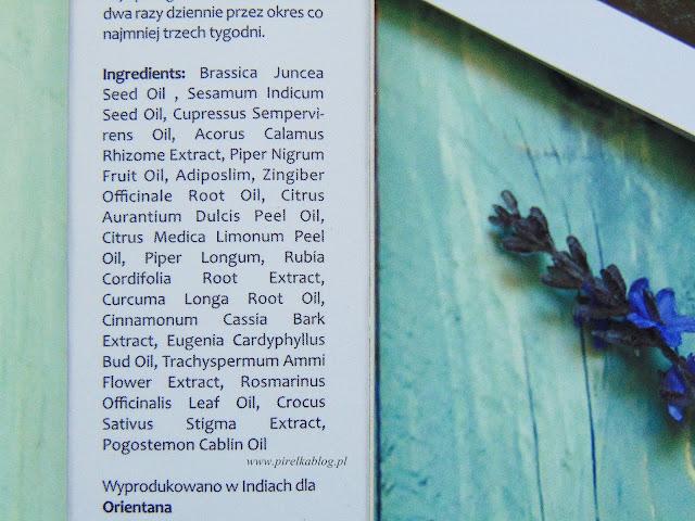 Orientana - BIO Olejek antycellulitowy 17 roślin Ajurwedy