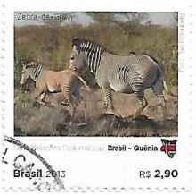 Selo Zebra-de-Grevy