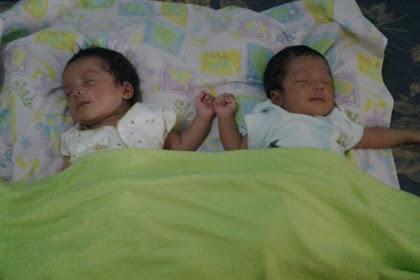Omron Nebulizer, Terapi Pernapasan Terbaik Bayi Kembar Kami