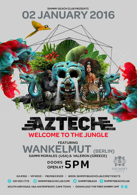Wankelmut is playing in South Africa 2016 win tickets