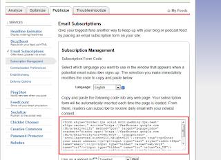 copy tag feed