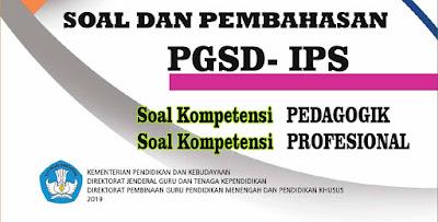 Soal UP PPG PGSD IPS Lengkap Pembahasan