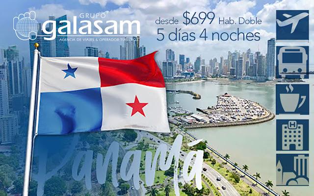 Panamá   Marzo y Abril  5 días 4 noches