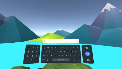 daydream keyboard interface