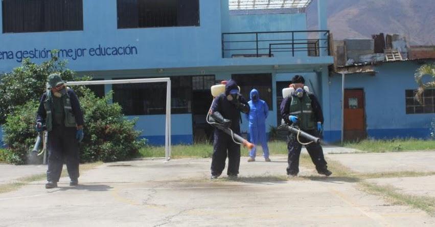 Detectan 17 casos positivos de coronavirus en trabajadores de la DRE Huánuco