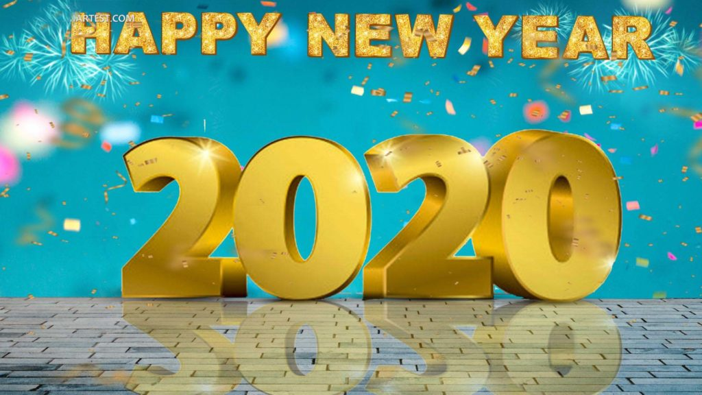 2020 gold background picsart new year