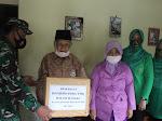 Bakti Sosial Dandim 0706/Temanggung Beri Bingkisan Kepada Anggota Veteran Pejuang Dalam Rangka HUT TNI Ke-75 Dan HUT Kodam IV Diponegoro