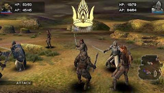 The Lord of The Rings Tactics ISO PSP