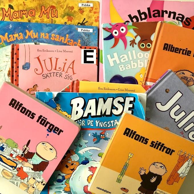 Szwedzkojęzyczne serie książek, które podbiją serca Waszych dzieci: 0-2 lata