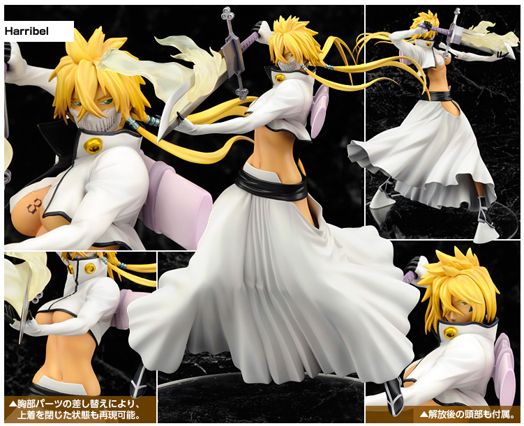 Tier Harribel 1/8 de Bleach, Alpha Omega.