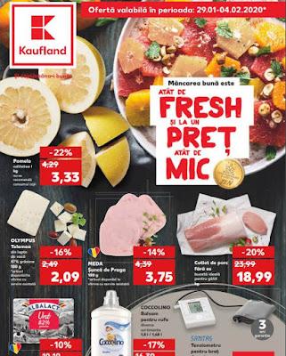 catalog brosura kaufland 29 ianuarie 4 februarie 2020