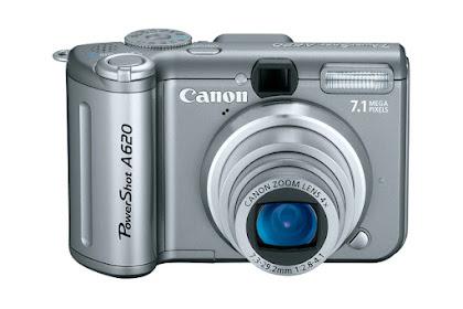 Canon PowerShot A620 Driver Download Windows, Mac