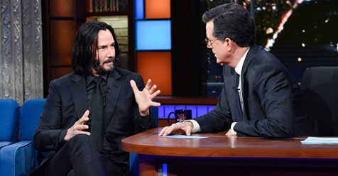 Keanu Reeves Explains What Happens When We Die And Leaves Stephen Colbert Speechless