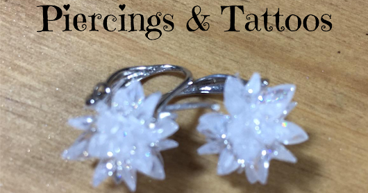 #Blogtober16 Day 16 - Piercings and Tattoos