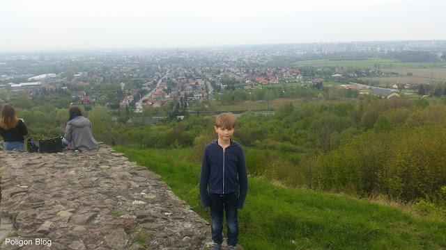 Tarnów, ruiny, zamek Tarnowskich