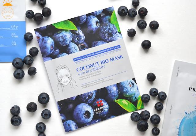leaders insolution coconut bio mask flatlay