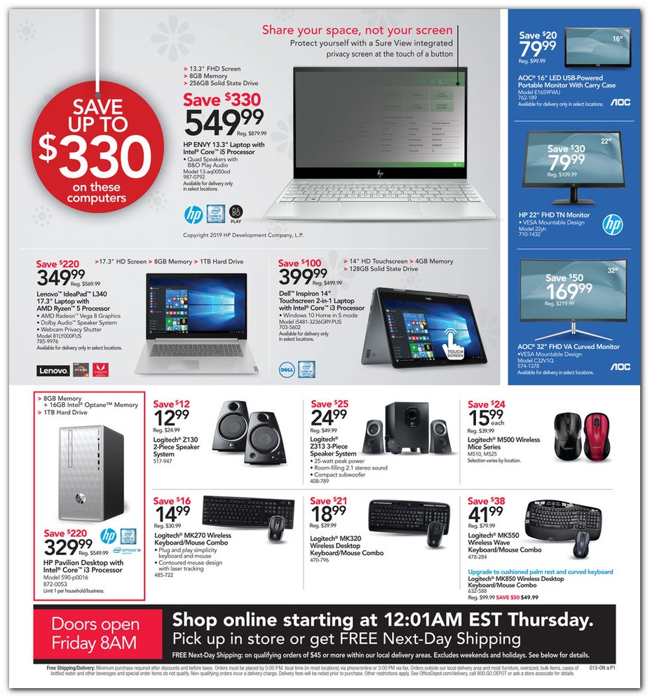 Office Depot® & Officemax® Black Friday 2019 page 10