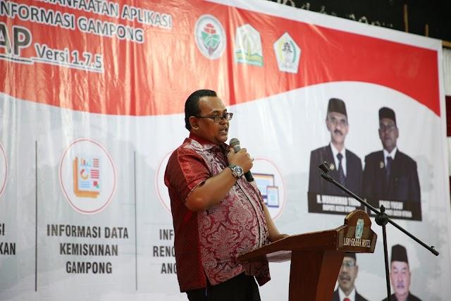 Wabup Fauzi Yusuf Buka Pelatihan Aplikasi SIGAP,  Diikuti 852 Operator Gampong