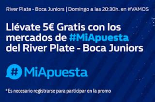 william hill Promo River Plate vs Boca Juniors 9 diciembre