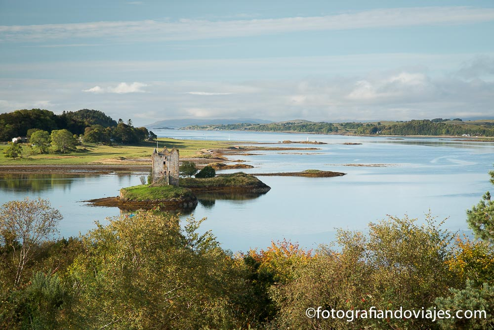 Castillo de Stalker, Escocia