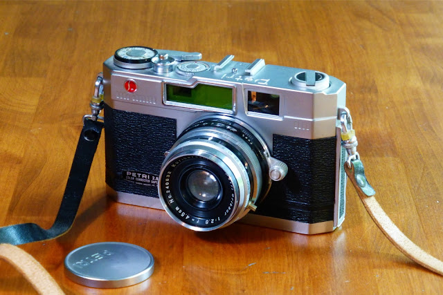 Petri, rangefinder, camera, 35mm, leaf shutter, Jim Clifford, Jimmy Clifford