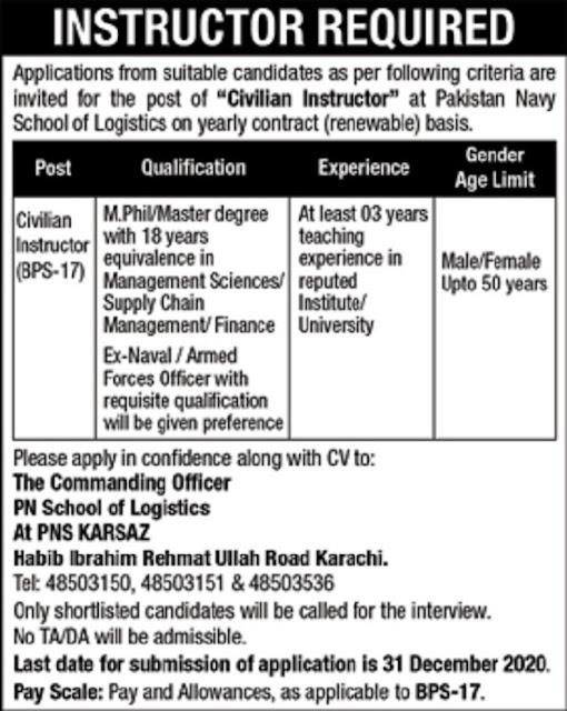 pakistan-navy-civilian-jobs-2020-advertisement