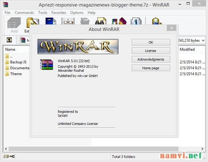 download winrar v5.01