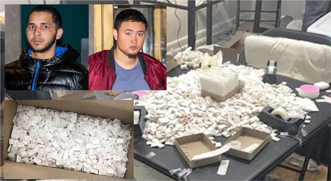 Arrestan dominicanos en apartamento de El Bronx con heroína y fentanilo valorados en siete millones