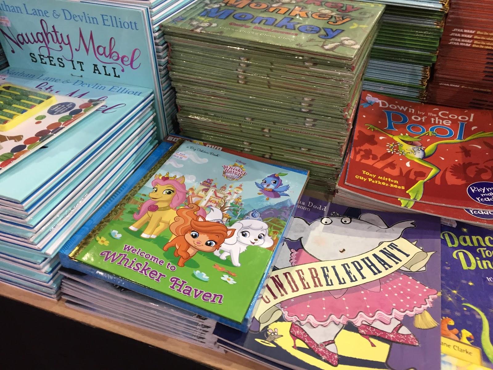 buku kanak-kanak di big bad wolf
