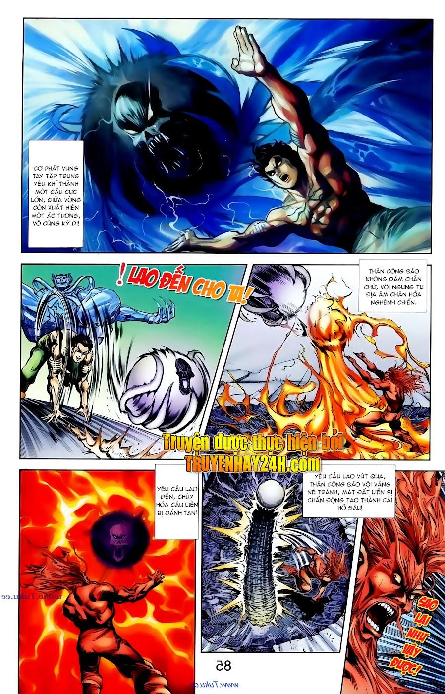 Cơ Phát Khai Chu Bản chapter 101 trang 24