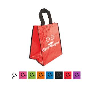 Bolsas baratas personalizadas Rojas