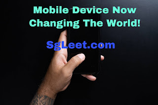 How Mobile Devices Are Changing The World