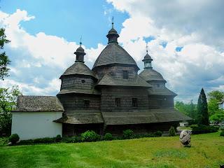 Жолква. Церковь Святой Троицы. 1720 г.