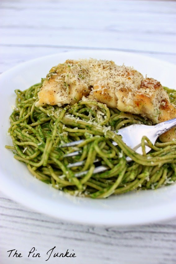 Spinach Pasta with Chicken