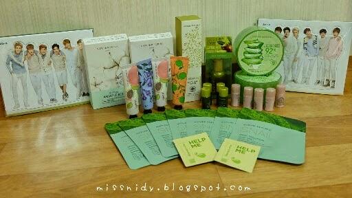korea makeup shopping haul